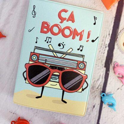 """Porte-Passeport """"Ca Boom !"""""""