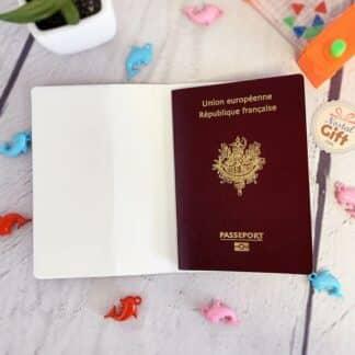 Porte-Passeport Summer Lama
