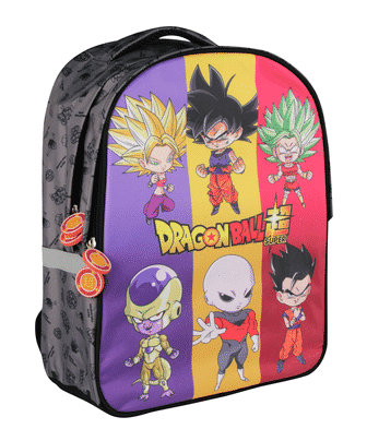 Sac à dos Dragon Ball DBS2 Mini personnage - Clairefontaine