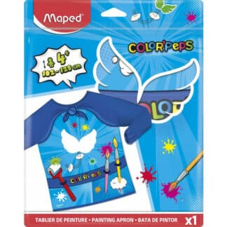 Tablier maternelle scratch au dos - Maped