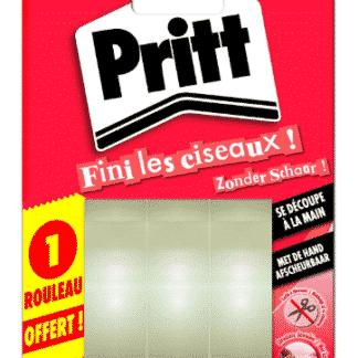 """Ruban adhésif Pritt """"fini les ciseaux"""" - lot de 2+1 gratuit"""