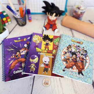 Cahier de textes 17x22 Dragon Ball DBS 152 pages - Clairefontaine
