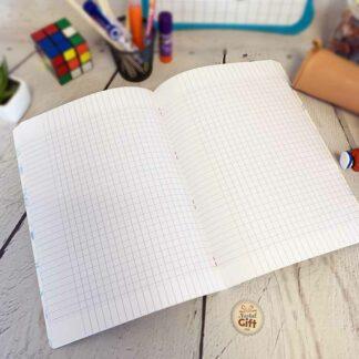 Cahier A4 Dragon Ball DBS avec 96 pages & Gros carreaux (séyès) - Clairefontaine
