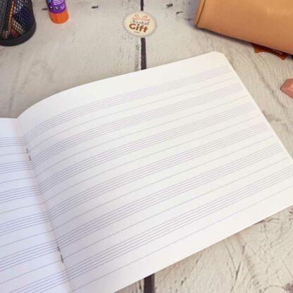 Cahier de musique 6 portées 22x17 à l'italienne 48 pages - Clairefontaine