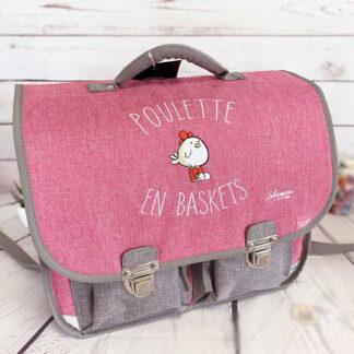 Cartable Vintage 38 cm Poulette en Baskets - Quo Vadis