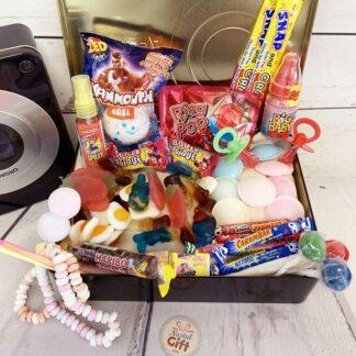 "Coffret Cadeau : Boite bonbons 90 ""camera"""