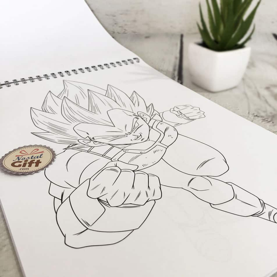Bloc De Coloriage A4 Dragon Ball 84 Pages Clairefontaine