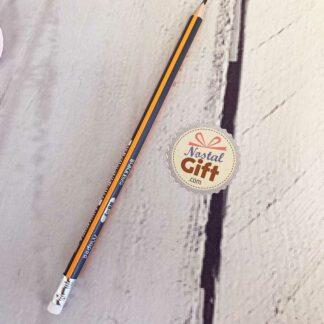Crayon HB à papier avec embout gomme - Maped