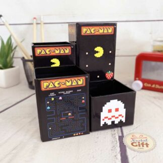 Lot de 4 pots à crayon magnétiques Pac Man