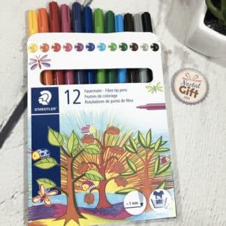 Etui de 12 feutres de coloriage - Staedtler