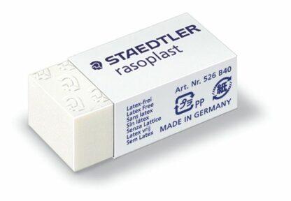 Mini gomme blanche Rasoplast - Staedtler