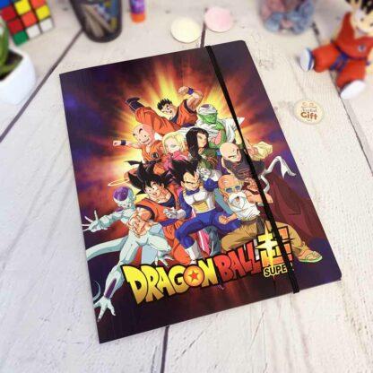 Porte documents à 3 rabats Dragon Ball DBS - Clairefontaine