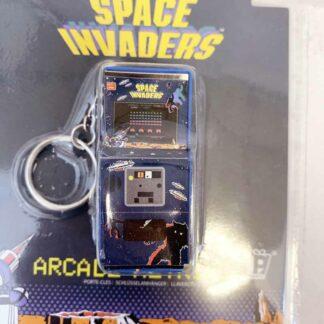 Porte clef arcade Space Invaders
