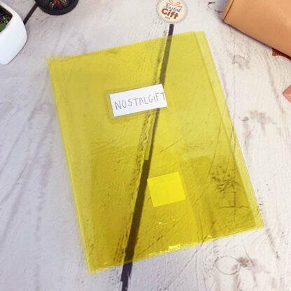 Protège cahier transparent 17x22 - Calligraphe