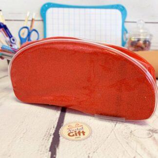 Trousse Rouge avec des paillettes - Clairefontaine