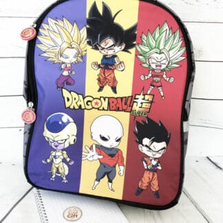 Trousse Dragon Ball DBS2 avec 2 compartiments Mini personnage - Clairefontaine