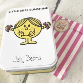 Boite Bonbons Little Miss Sunshine / Mme Bonheur - Jelly Beans - 170g