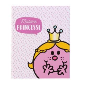 Plaid polaire Madame Princesse - Monsieur Madame