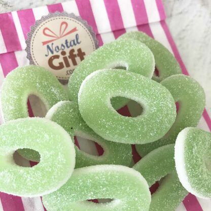 Bonbon anneaux acidulés à la pomme x 10