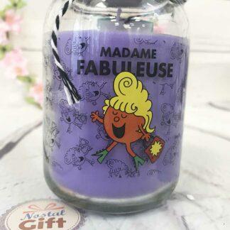 Bougies Madame Fabuleuse