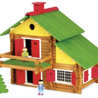 Mon chalet en bois - Jeux de construction (175 pièces)