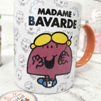 Mug Mme Bavarde - Monsieur Madame