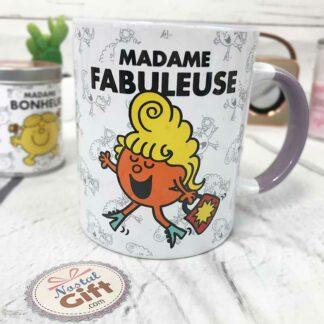 Mug Mme Fabuleuse - Monsieur Madame