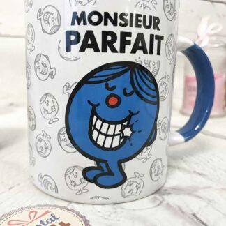 Mug M.Parfait bleu - Monsieur Madame