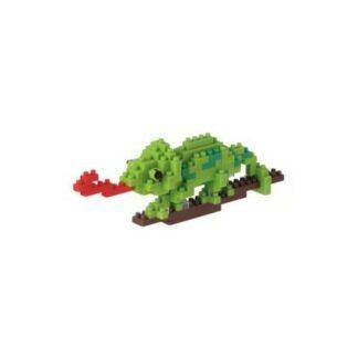 Nanoblock -  Caméléon - Figurine mini à monter