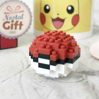 Nanoblock -  Chenipan - Pokemon - Figurine mini à monter - licence officielle