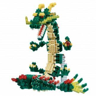 Nanoblock -  Grand Dragon et boule de cristal - Figurine Deluxe à monter