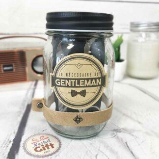 """Kit pour homme """"le nécessaire du gentleman"""" - cadeau homme"""