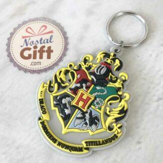 Porte clé emblème Poudlard- Harry Potter