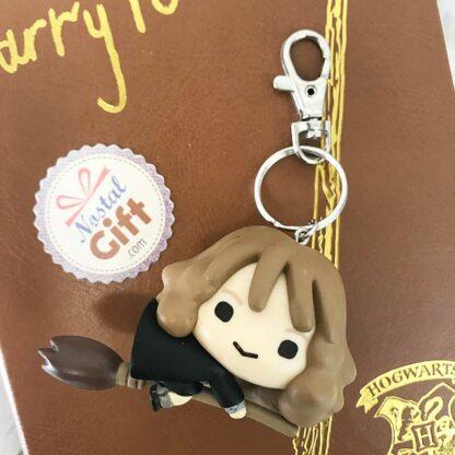 Porte clés 3d Hermione- Harry Potter