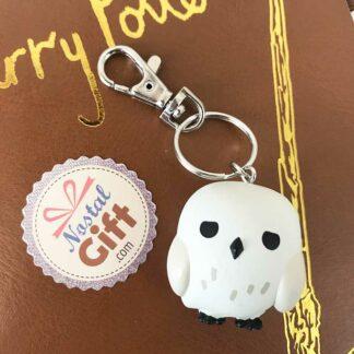 Porte clés 3d Hedwige - Harry Potter