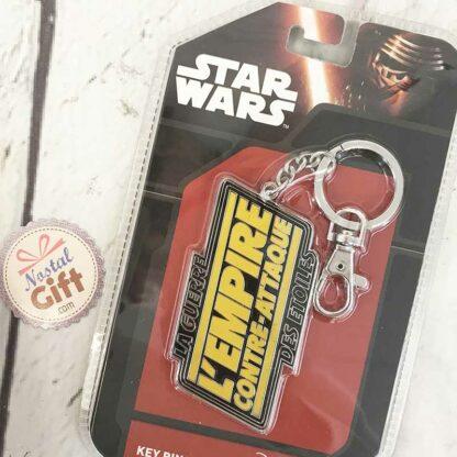 """Porte-Clés en métal Star Wars """"l'empire contre-attaque"""""""