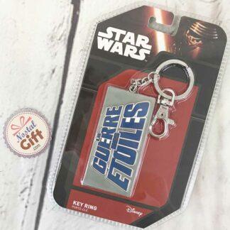 "Porte-Clés en métal Star Wars ""La guerre des étoiles"""
