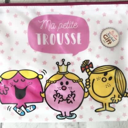 Monsieur Madame - Grande trousse de toilette 3 personnages
