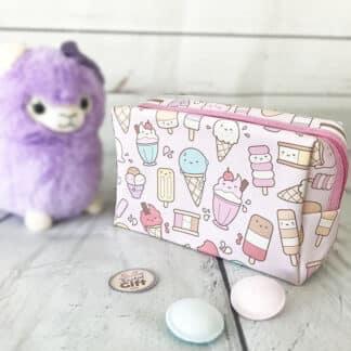 Trousse de toilette Emoji Kawaï