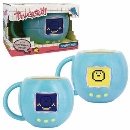 Mug 3D Tamagotchi changeant de couleur