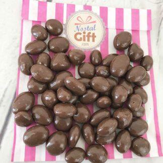 Cacahuètes enrobées de chocolat - 100g