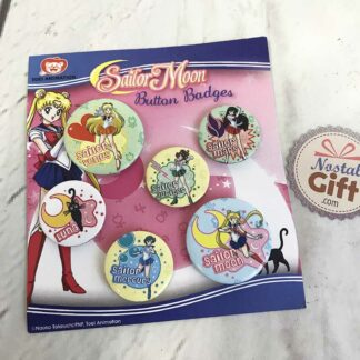 Sailor Moon - Set de 6 badges