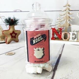 Bonbonnière de bonbons Noël - Jesus meringue x 40