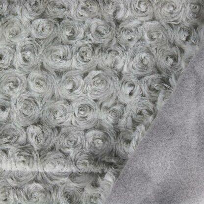 Plaid doux gris clair 120X150 CM