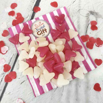 Jelly Beans forme de coeur x50 - Saint Valentin