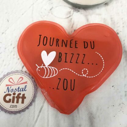 Chaufferette Coeur - Journée du Bizzzzou