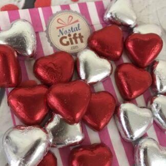 """Bonbonnière Saint Valentin - Coeur chocolat fourrés praliné X20 - """"My Love"""""""
