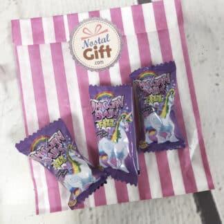 Chewing gum en forme d'oeuf - Bubble Gum goût fraise à la crème x 3
