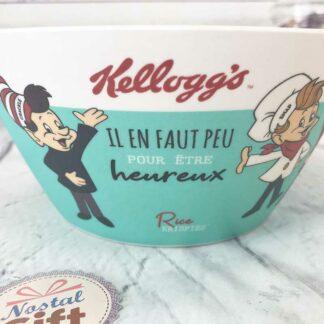 """Verre en Bambou Kellogg's - Froot Loop (Sain le toucan) - """"Un matin gourmand sinon rien"""""""