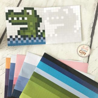 Stickers Pixel Party - Pochettes créatives